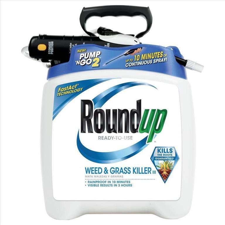 Roundup, Pump 'N Go Weed & Grass Killer, 1 33 Gal