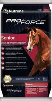 Nutrena, ProForce Senior Horse Feed, 50 lbs