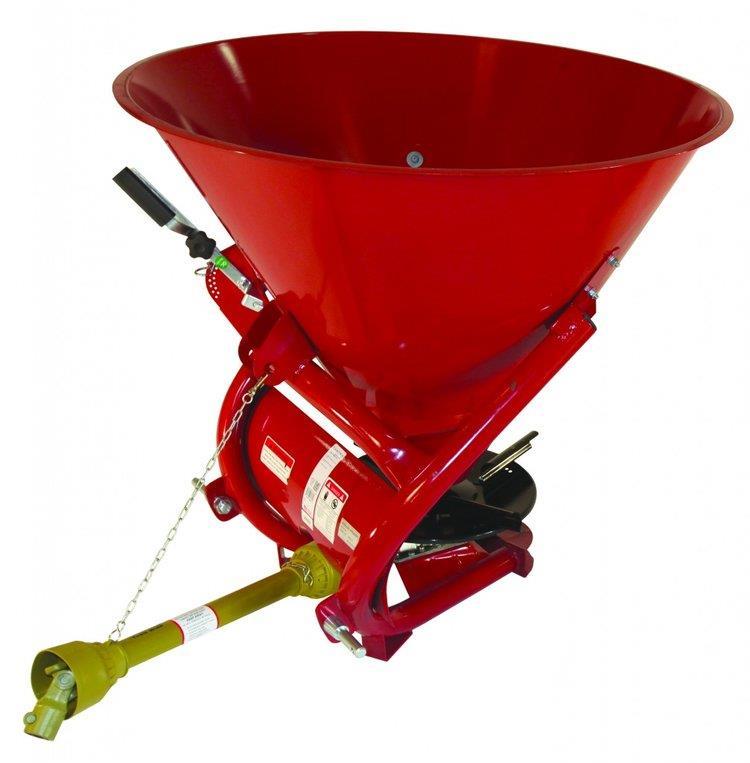 Tarter, Fertilizer Spreader, Red, 850 lb  Capacity