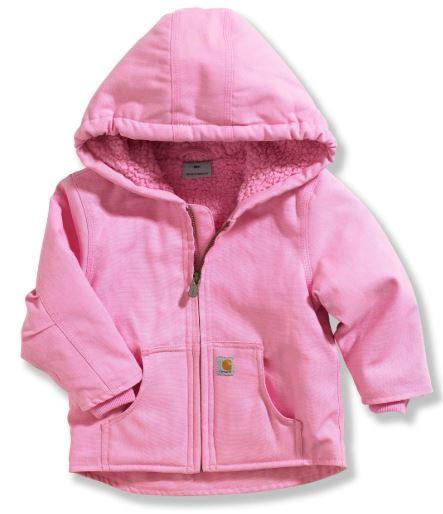 Carhartt, Redwood Jacket, Sherpa Lined, Pink